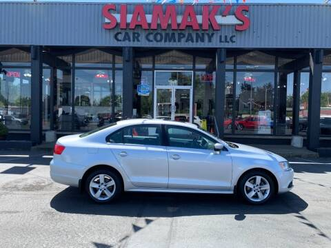 2011 Volkswagen Jetta for sale at Siamak's Car Company llc in Salem OR
