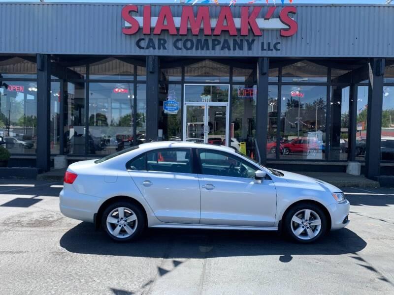 2011 Volkswagen Jetta for sale at Siamak's Car Company llc in Salem OR
