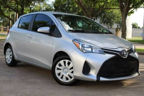 2016 Toyota Yaris for sale at DFW Universal Auto in Dallas TX