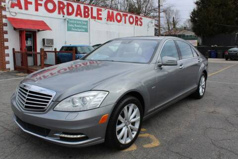 2012 Mercedes-Benz S-Class for sale at AFFORDABLE MOTORS INC in Winston Salem NC