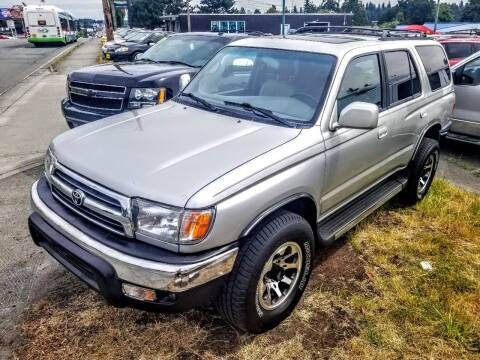 2000 Toyota 4Runner for sale at SS MOTORS LLC in Edmonds WA