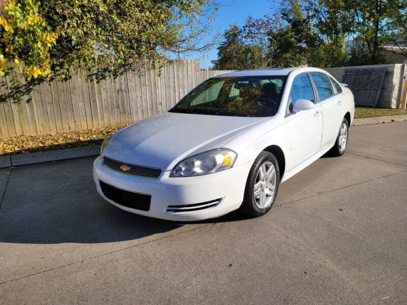 2012 Chevrolet Impala for sale at Harold Cummings Auto Sales in Henderson KY