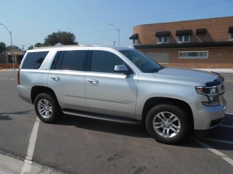 2016 Chevrolet Tahoe for sale at Creighton Auto & Body Shop in Creighton NE