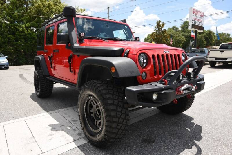 2015 Jeep Wrangler Unlimited for sale at Grant Car Concepts in Orlando FL