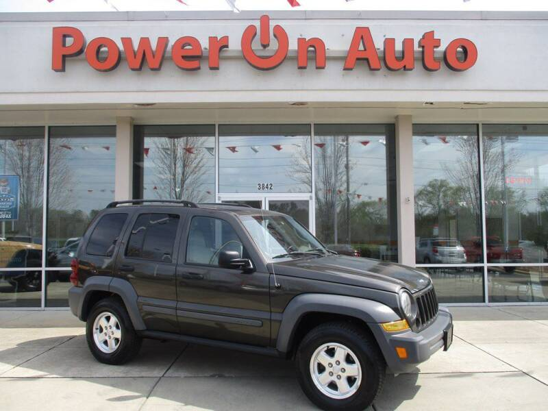 2006 Jeep Liberty for sale at Power On Auto LLC in Monroe NC