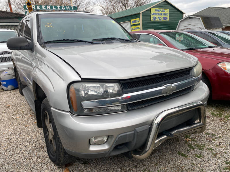 2004 Chevrolet TrailBlazer for sale at GREENLIGHT AUTO SALES in Akron OH