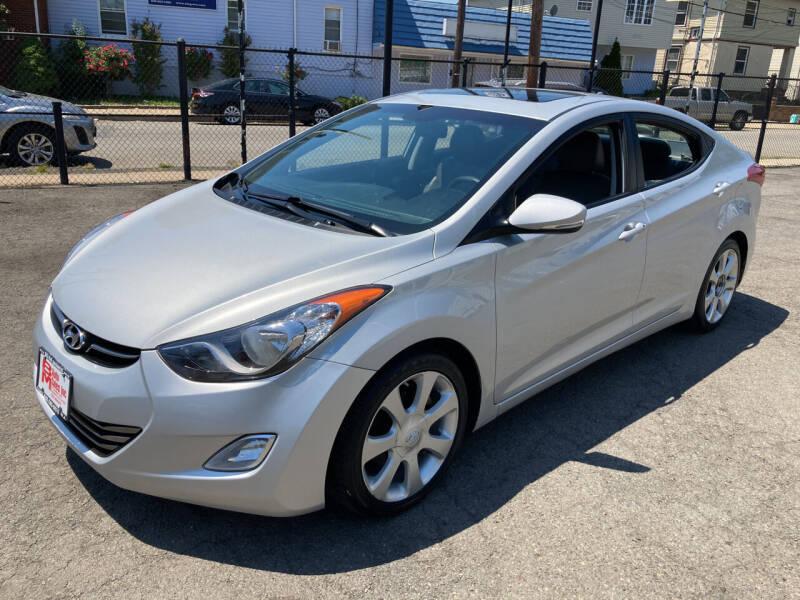 2012 Hyundai Elantra for sale at B & M Auto Sales INC in Elizabeth NJ