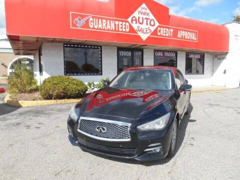 2014 Infiniti Q50 for sale at Oak Park Auto Sales in Oak Park MI