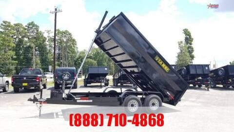 2021 US BUILT 7' X 14' X 3' Bumper Pull 14K for sale at Montgomery Trailer Sales - U.S. Built in Conroe TX