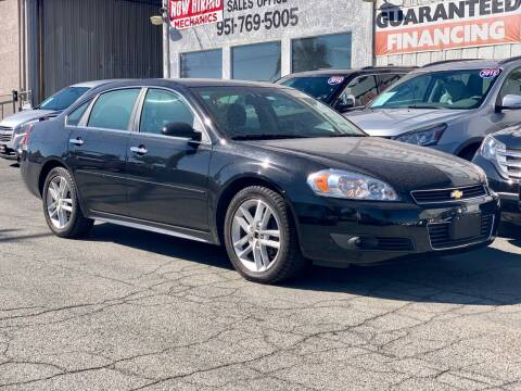 2011 Chevrolet Impala for sale at Auto Source in Banning CA