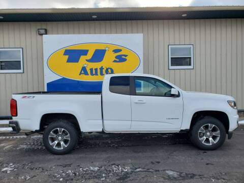 2015 Chevrolet Colorado for sale at TJ's Auto in Wisconsin Rapids WI