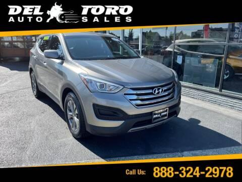 2016 Hyundai Santa Fe Sport for sale at DEL TORO AUTO SALES in Auburn WA