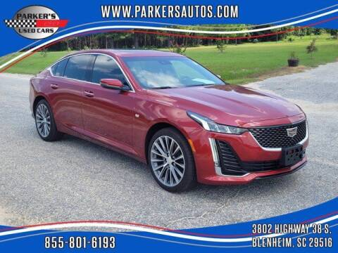 2020 Cadillac CT5 for sale at Parker's Used Cars in Blenheim SC