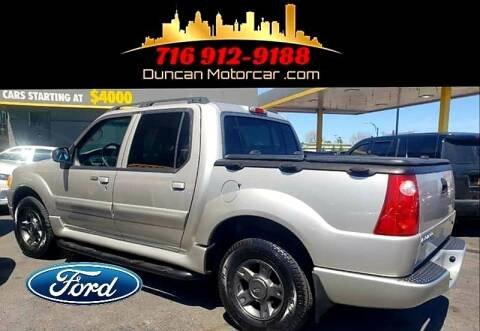 2004 Ford Explorer Sport Trac for sale at DuncanMotorcar.com in Buffalo NY