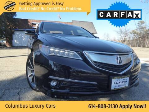2015 Acura TLX for sale at Columbus Luxury Cars in Columbus OH