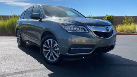 2014 Acura MDX for sale at Prime Motorports in Sacramento CA