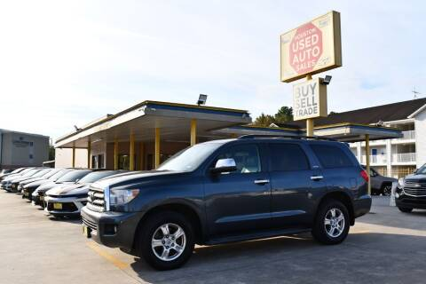 2008 Toyota Sequoia for sale at Houston Used Auto Sales in Houston TX