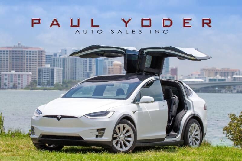 2020 Tesla Model X for sale at PAUL YODER AUTO SALES INC in Sarasota FL