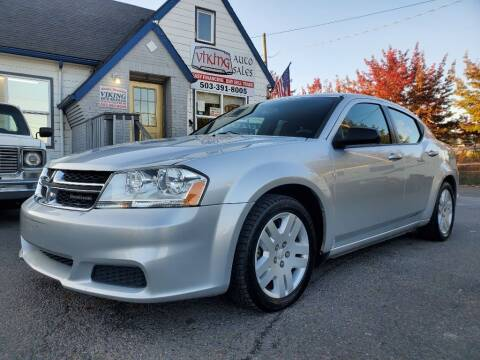 2011 Dodge Avenger for sale at VIking Auto Sales LLC in Salem OR