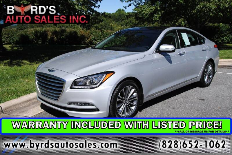 2016 Hyundai Genesis for sale at Byrds Auto Sales in Marion NC