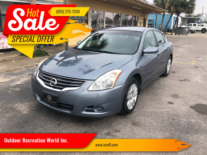 2011 Nissan Altima for sale at Outdoor Recreation World Inc. in Panama City FL