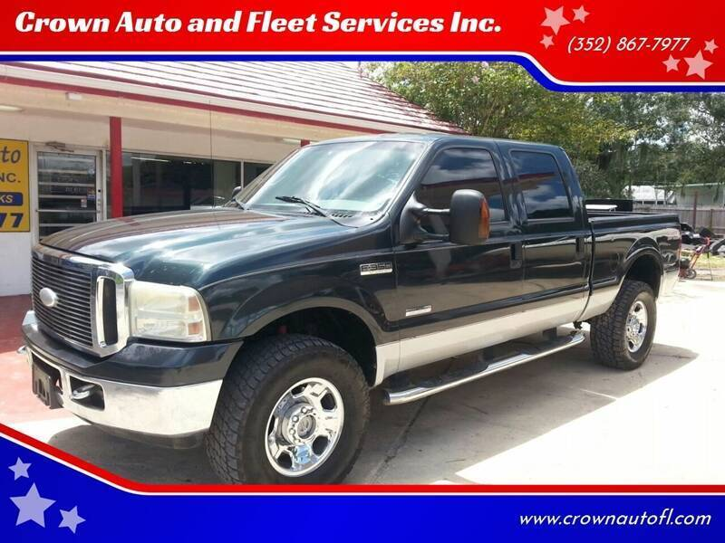 2007 Ford F-350 Super Duty for sale at Crown Auto and Fleet Services Inc. in Ocala FL