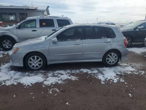 2006 Kia Spectra for sale at PYRAMID MOTORS - Fountain Lot in Fountain CO