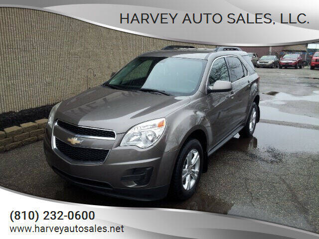 2011 Chevrolet Equinox for sale at Harvey Auto Sales, LLC. in Flint MI