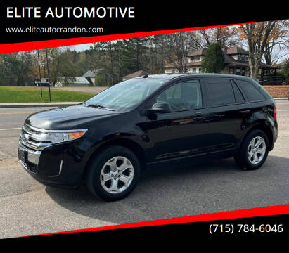 2012 Ford Edge for sale at ELITE AUTOMOTIVE in Crandon WI