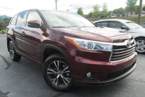 2016 Toyota Highlander for sale at Tilleys Auto Sales in Wilkesboro NC