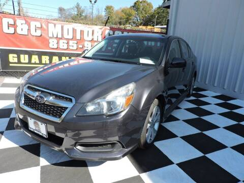 2013 Subaru Legacy for sale at C & C Motor Co. in Knoxville TN