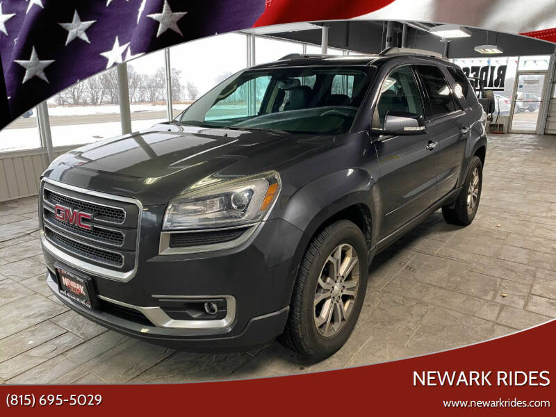 2013 GMC Acadia for sale at Newark Rides in Newark IL