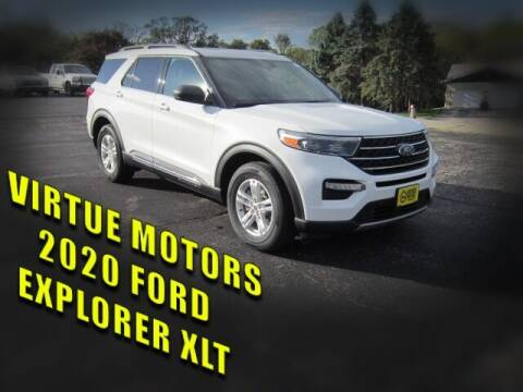 2020 Ford Explorer for sale at Virtue Motors in Darlington WI