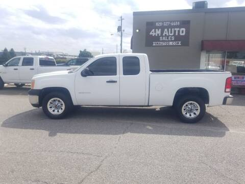 2011 GMC Sierra 1500 for sale at 4M Auto Sales | 828-327-6688 | 4Mautos.com in Hickory NC