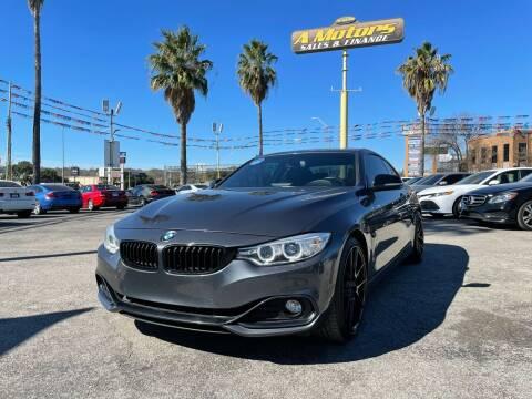 2014 BMW 4 Series for sale at A MOTORS SALES AND FINANCE - 10110 West Loop 1604 N in San Antonio TX