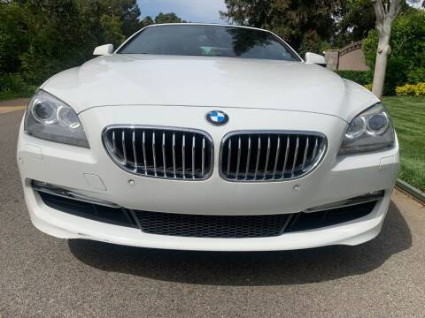 2012 BMW 6 Series for sale at Car Lanes LA in Valley Village CA