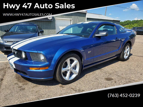 2007 Ford Mustang for sale at Hwy 47 Auto Sales in Saint Francis MN