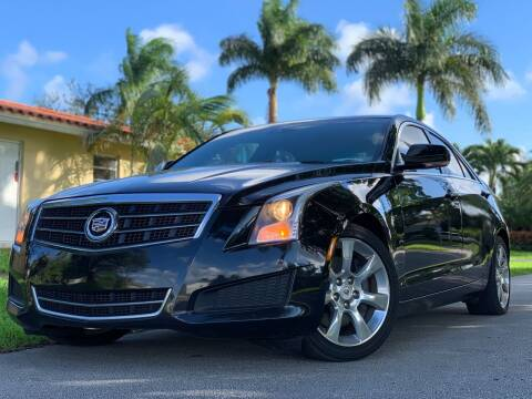 2013 Cadillac ATS for sale at HIGH PERFORMANCE MOTORS in Hollywood FL