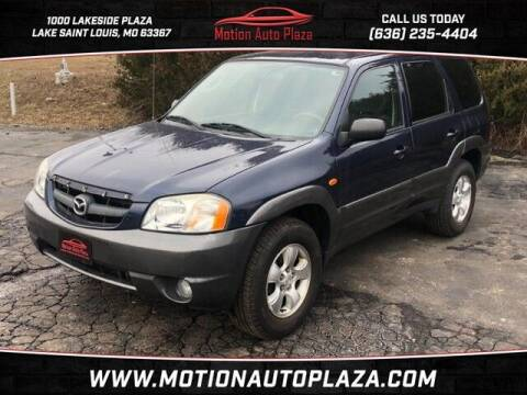 2003 Mazda Tribute for sale at Motion Auto Plaza in Lakeside MO
