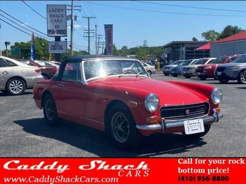 1972 MG Midget for sale at CADDY SHACK CARS in Edgewater MD