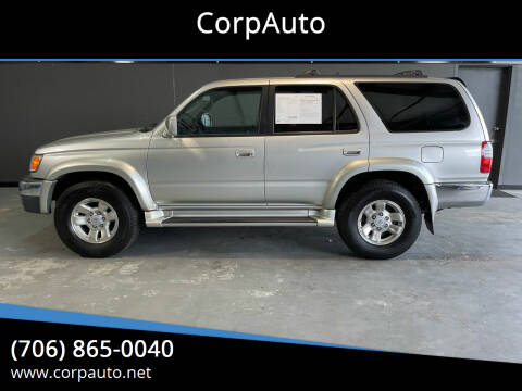 2000 Toyota 4Runner for sale at CorpAuto in Cleveland GA