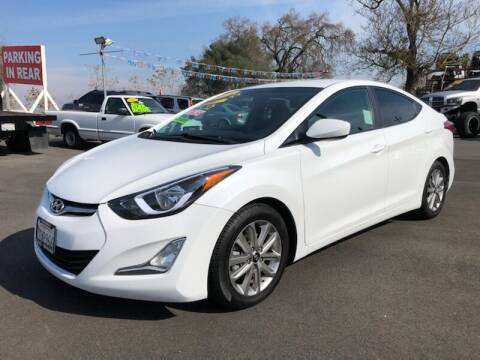 2015 Hyundai Elantra for sale at C J Auto Sales in Riverbank CA