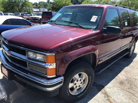 1998 Chevrolet Suburban for sale at Sonny Gerber Auto Sales in Omaha NE