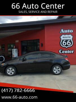 2013 Honda Civic for sale at 66 Auto Center in Joplin MO