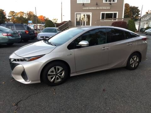 2017 Toyota Prius Prime for sale at Good Works Auto Sales INC in Ashland MA
