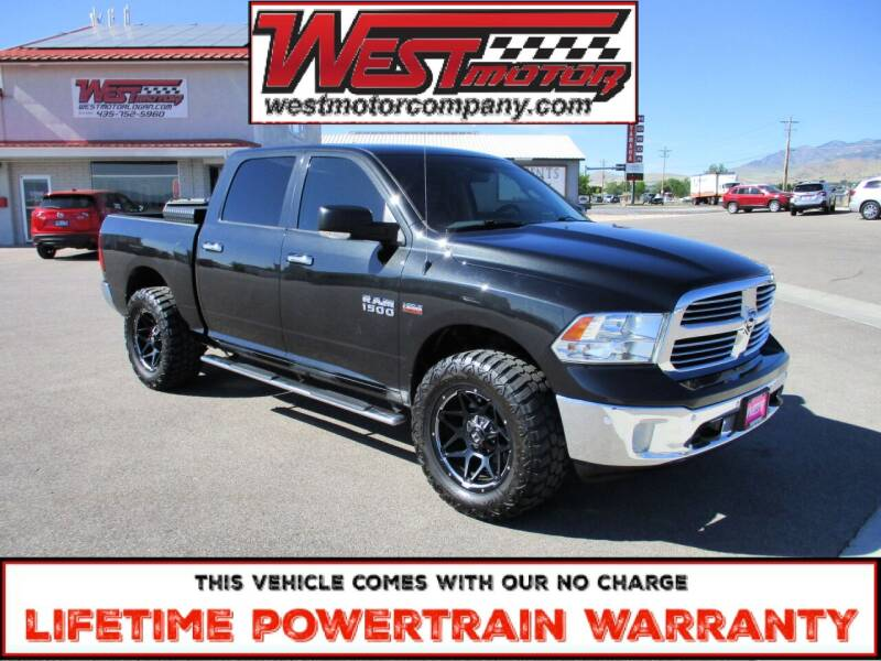 2017 RAM Ram Pickup 1500 for sale at West Motor Company in Hyde Park UT