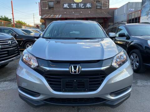 2018 Honda HR-V for sale at TJ AUTO in Brooklyn NY