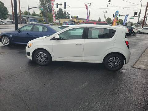 2013 Chevrolet Sonic for sale at Bonney Lake Used Cars in Puyallup WA