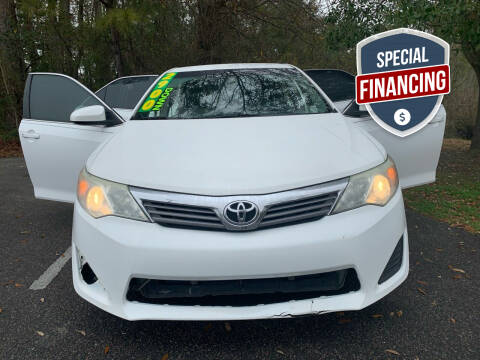 2014 Toyota Camry for sale at Auto Mart in North Charleston SC