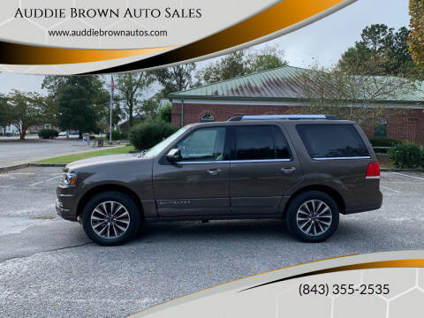 2016 Lincoln Navigator for sale at Auddie Brown Auto Sales in Kingstree SC